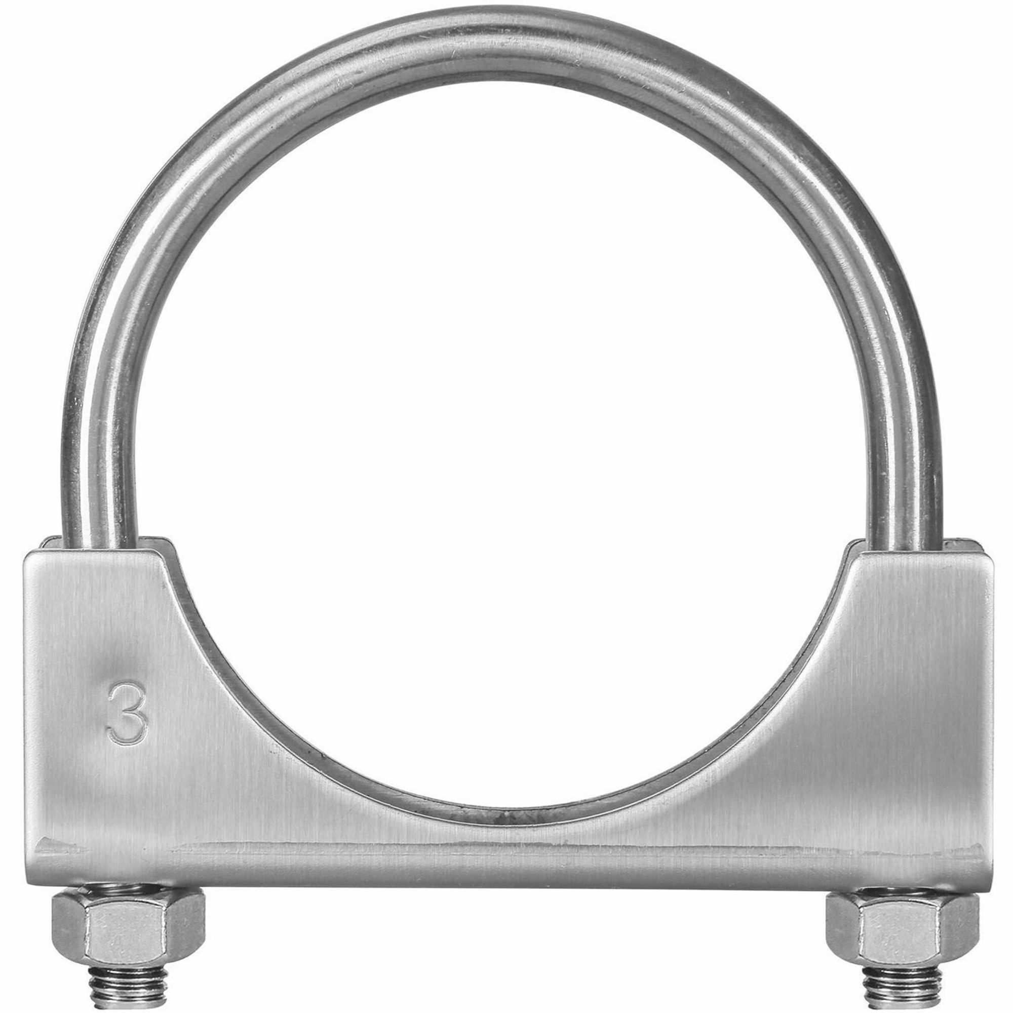 Picture of TOTALFLOW TF-U300 U-Bolt | Saddle Exhaust Muffler Clamp Band | 3 Inch