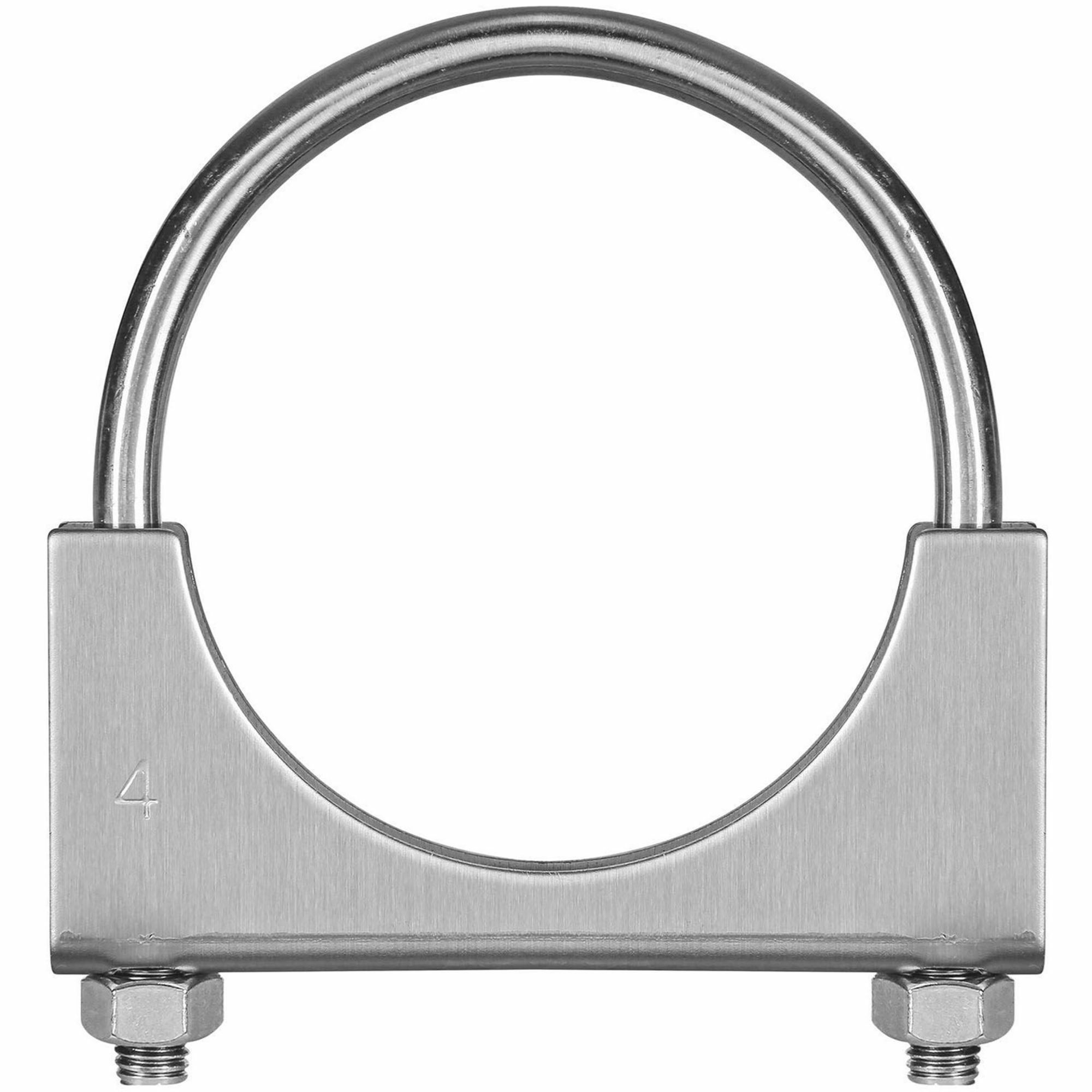 Picture of TOTALFLOW TF-U400 U-Bolt   Saddle Exhaust Muffler Clamp Band   4 Inch