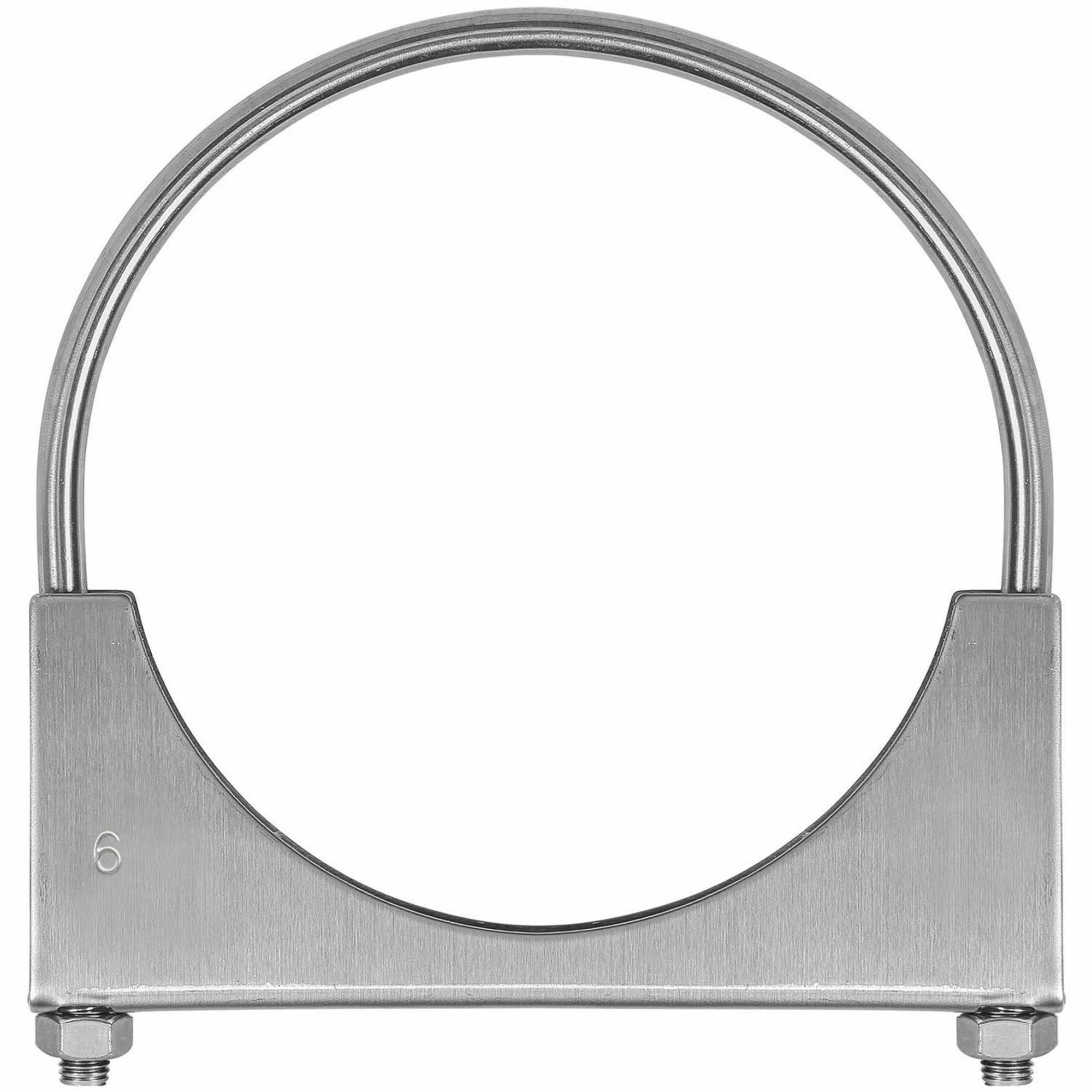 Picture of TOTALFLOW TF-U600 U-Bolt   Saddle Exhaust Muffler Clamp Band   6 Inch