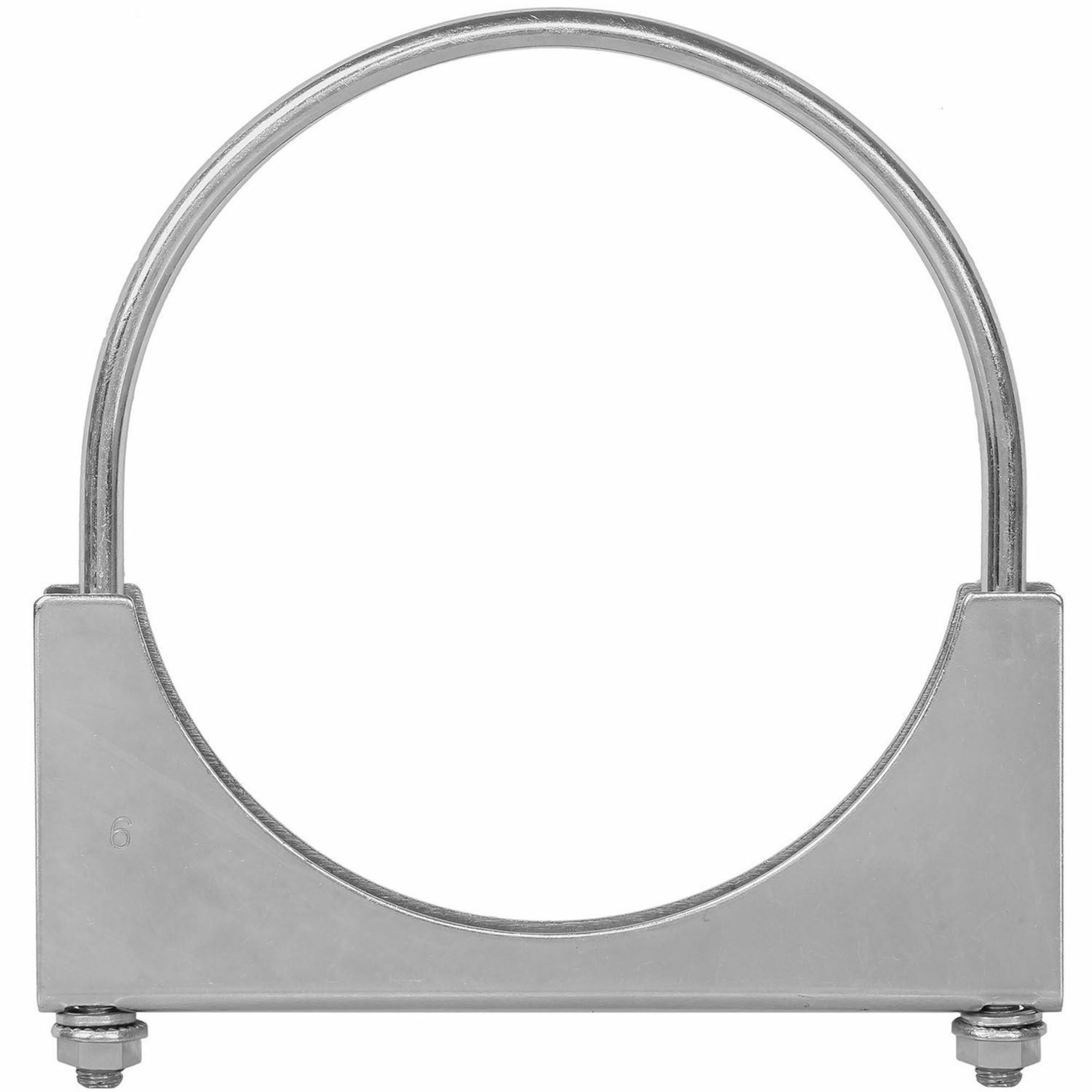 Picture of TOTALFLOW TF-UZ600 U-Bolt | Saddle Exhaust Muffler Clamp Band | 6 Inch