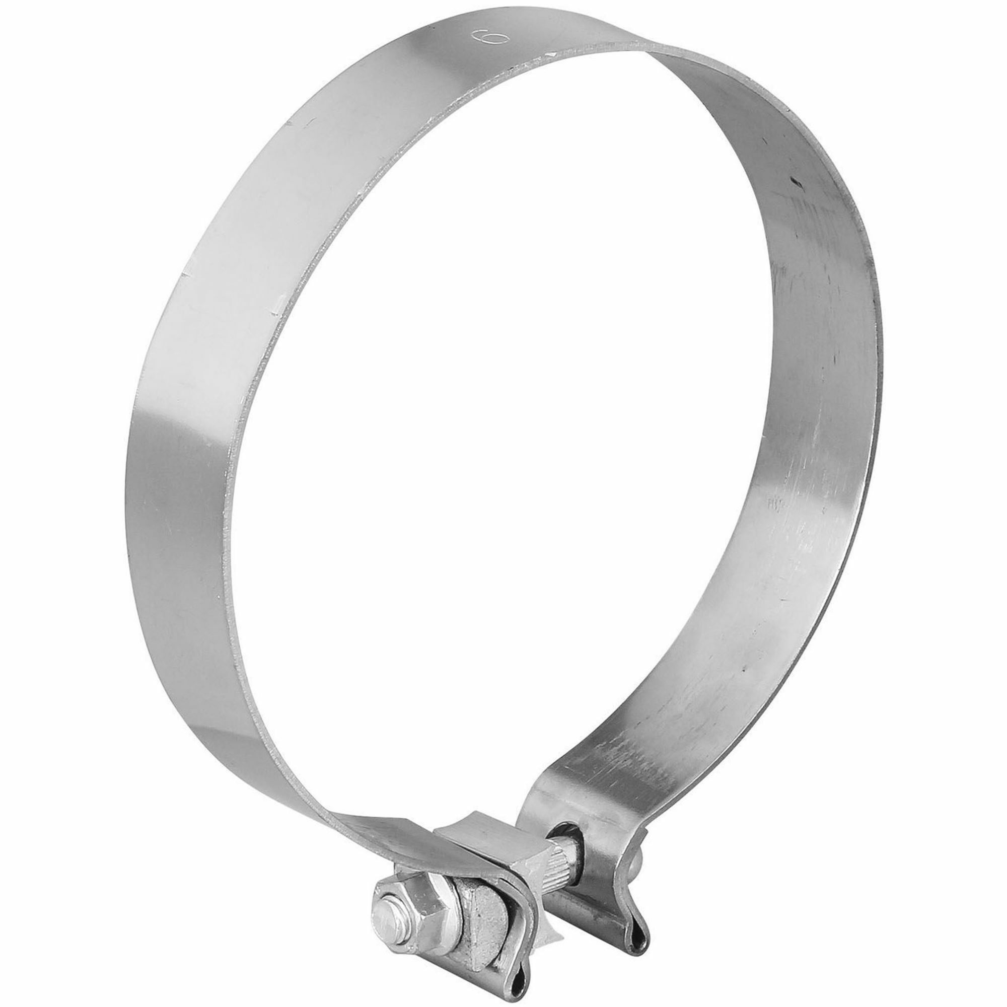 Picture of TOTALFLOW TF-600SS Single Bolt Exhaust Muffler Clamp Band | 6 Inch