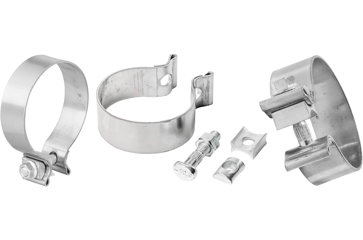 Picture for category Single Bolt Exhaust Muffler Clamps