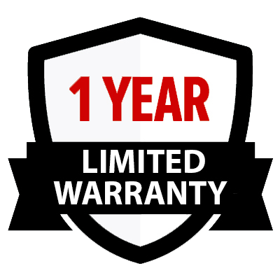 One (1) Year Limited Warranty